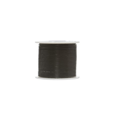2 CORE WIRE 26AWG BLACK/BLACK (100FT)/ROLL