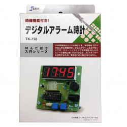 DIY DIGITAL ALARM CLOCK KT-738