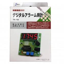 DIY DIGITAL ALARM CLOCK KT-738