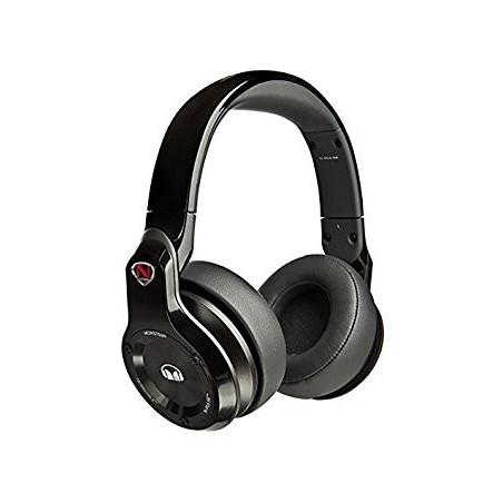 MONSTER NCREDIBLE N-PULSE OVER-EAR DJ HEADPHONES, BLACK