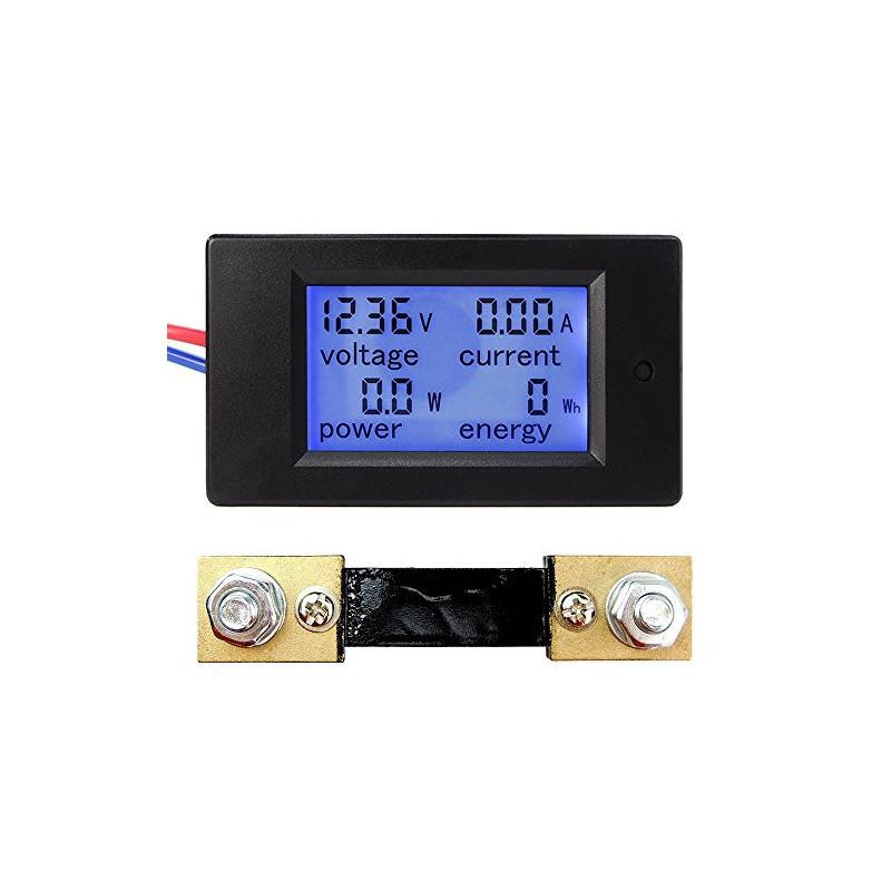 Pzem 051 Lcd Dc Volt Amp Watt Meter