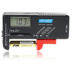 BATTERY TESTER BT-168D W/LCD DISPLAY