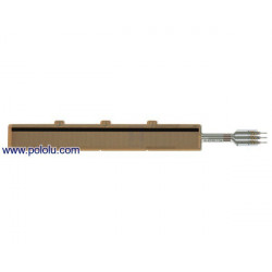 "FORCE SENSING LINEAR POTENTIOMETER 4"" X 0.4"""