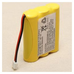 BATTERY, CORDLESS PHONE, NiMH, 3.6V 900mAH AAX3