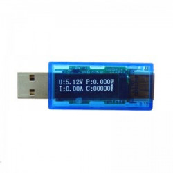 MINI OLED USB CURRENT AND VOLTAGE TESTER METER