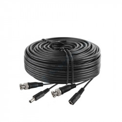 CCTV VIDEO/POWER BNC (M/M) AND DC (M/F) CABLE 30FT