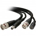 CCTV VIDEO/POWER BNC (M/M) AND DC (M/F) CABLE 50FT