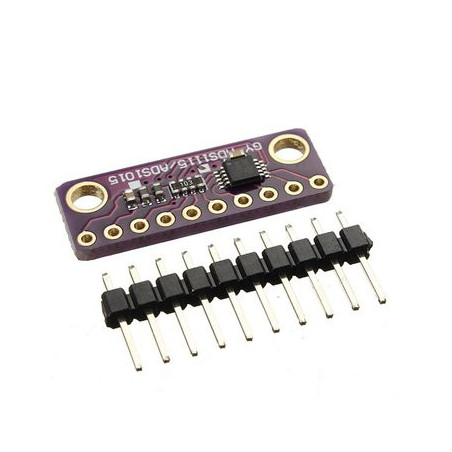 ADS1115 16-BIT ADC 4-CH PROGRAMMABLE GAIN AMPLIFIER