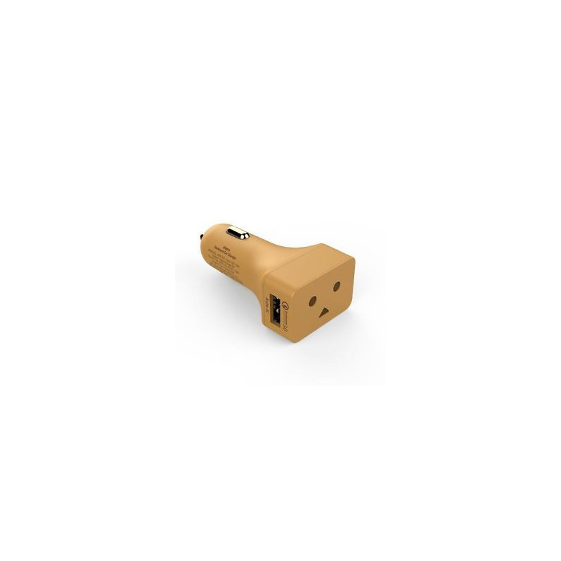CHEERO DANBOARD CAR CHARGER W/ FAST CHARGING
