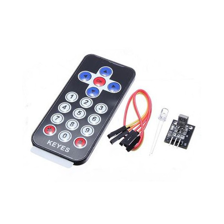 INFRARED REMOTE WITH RECEIVER KIT