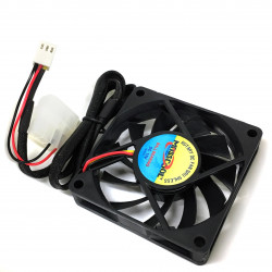 FAN 70X70X15MM 12VDC 3700RMP 29.7dBA 28CFM
