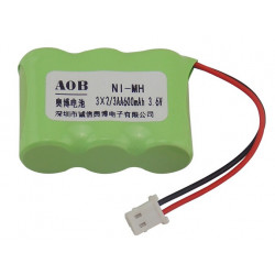 BATTERY, CORDLESS PHONE, NI-MH 3.6V 600MAH GP60AAH3BMU