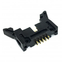 IDE / IDC EDGE SOCKET MOUNT CONNECTOR 10PIN LATCH