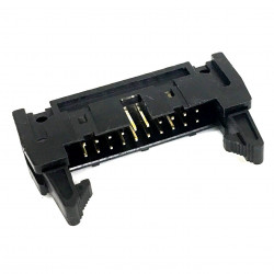 IDE / IDC EDGE SOCKET MOUNT CONNECTOR 20PIN LATCH