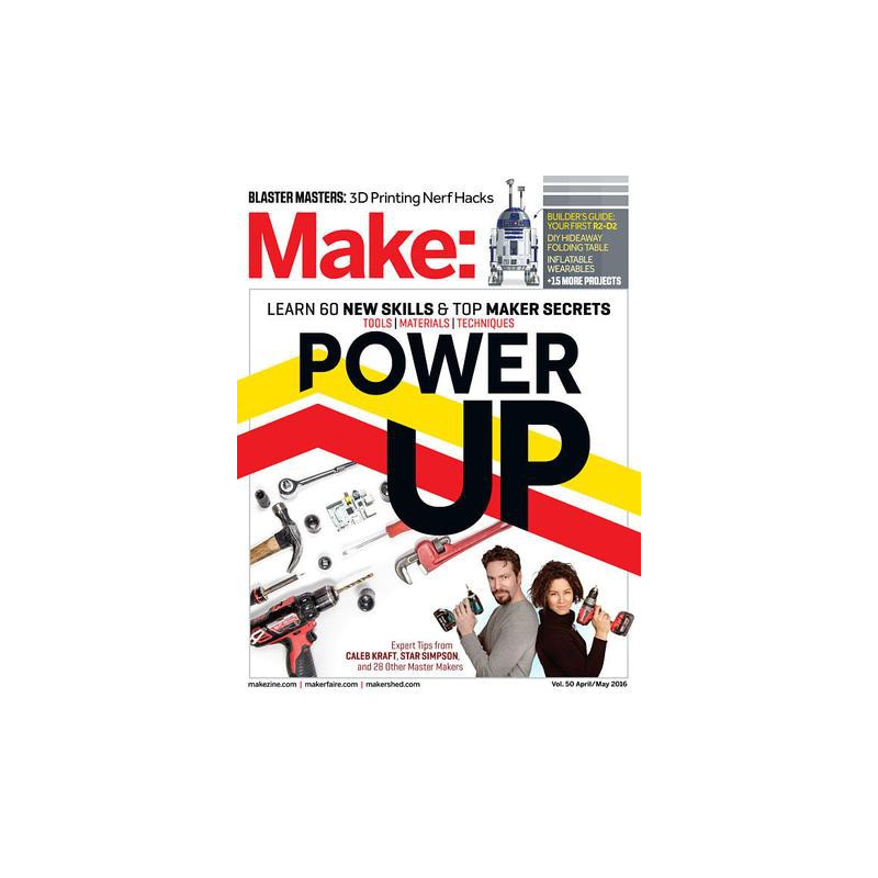 MAKE: TECHNOLOGY ON YOUR TIME VOLUME 50
