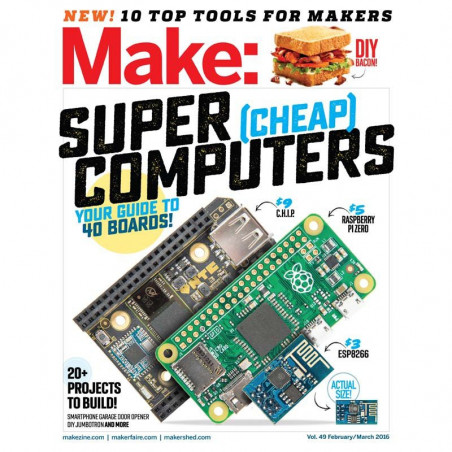 MAKE: TECHNOLOGY ON YOUR TIME VOLUME 49