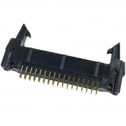 IDE / IDC EDGE SOCKET MOUNT CONNECTOR 34PIN LATCH