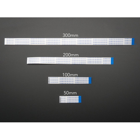 FLEX CABLE FOR RASPBERRY PI CAMERA - 200MM OR 8 INCHES