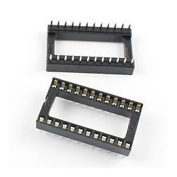 IC SOCKET 24-PINS WIDE 2PCS/PKG