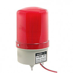 SIREN, SKODA, RED, S-100H, DC12V (CONTINUOUS TONE)
