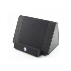 WIRELESS CORLDESS STAND INDUCTION SPEAKER BLACK