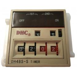 TIMER RELAY, 1S - 99M AC/DC 100V-240V