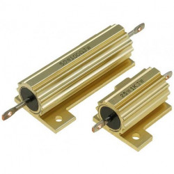 POWER RESISTORS 25W 4.7K WIREWOUND W/HEAT SHINK