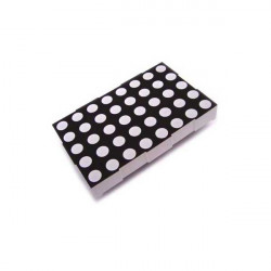 LED DOT MATRIX 5X7 SZ410757N (RED) (+) COMMON ANODE