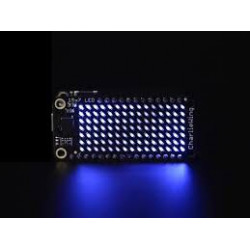 15 X 7 CHARLIEPLEX LED MATRIX DISPLAY FEATHERWING - BLUE
