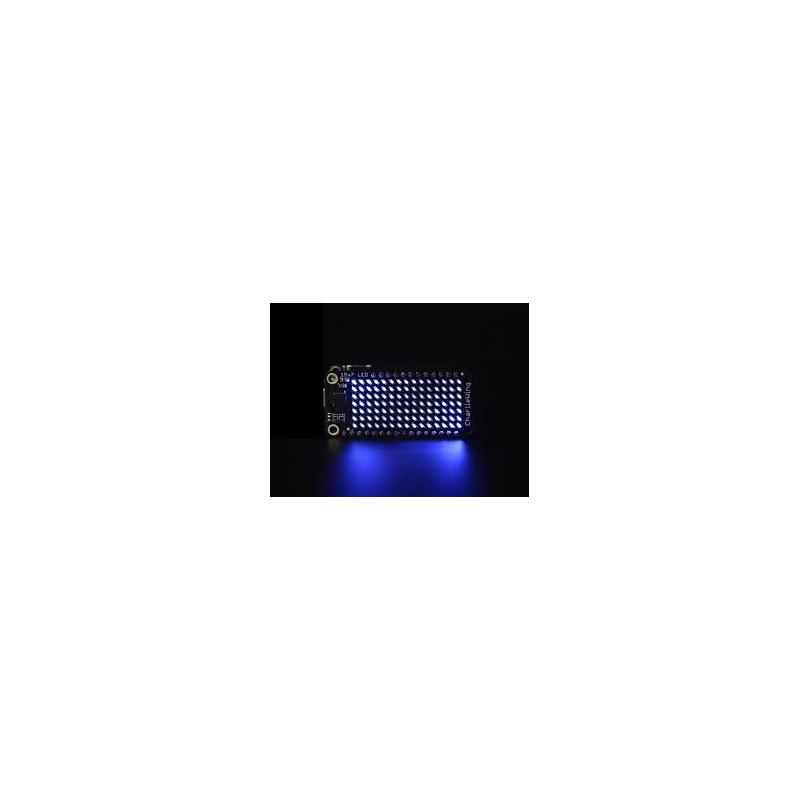 15 X 7 CHARLIEPLEX LED MATRIX DISPLAY FEATHERWING - BLUE