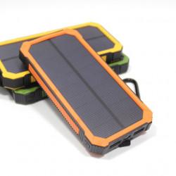 WATERPROOF 12000MAH SOLAR CHARGER DUAL USB POWER BANK