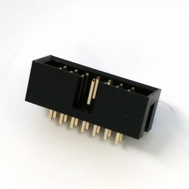 IDE/IDC EDGE SOCKET MOUNT CONNECTOR 14PIN 35-514-0