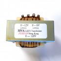 TRANSFORMER 30VA IN 0-120V OUT 0-12V / 0-6V