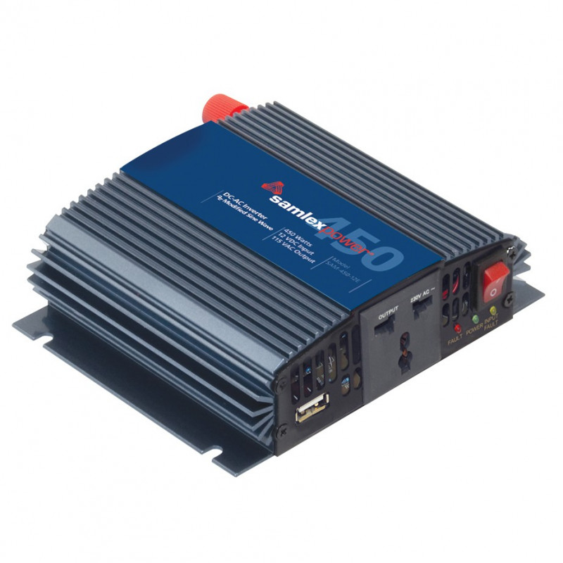 SAMLEX 12V MODIFIED SINE-WAVE INVERTER 450W