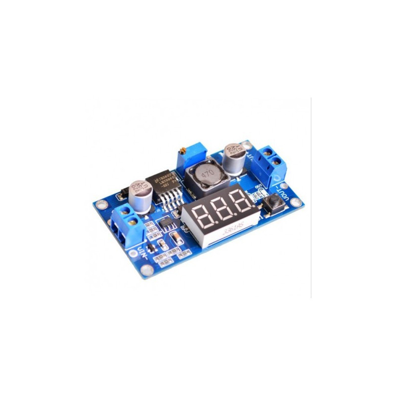 dc dc step down  LM2596 3A STEP-DOWN DC-DC CONVERTER W/DISPLAY