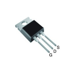 PWR MOSFET IRF-9640 P-CHANNEL -200V -11A 0.50OHM D-PAK