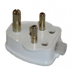 POWER PLUG D-TYPE 3-PRONG