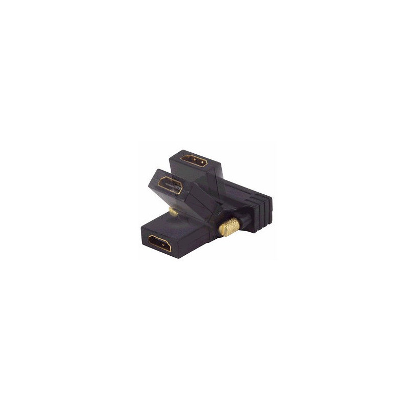 HDMI (F) TO DVI (M) 24+1 SWIVEL ADAPTOR