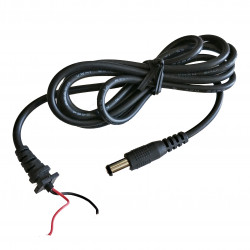 POWER CABLE 2.1MM DC 310-900 OPEN WIRES 6FT(5.5X8)MM