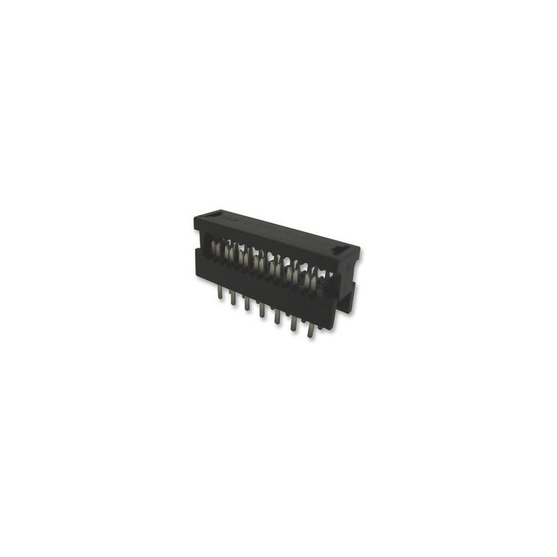 RIBBON EDGE CONNECTOR PCB MOUNT 14PINS 39-214-0