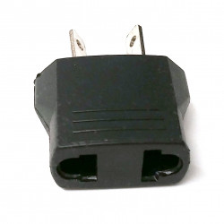 AC POWER SOCKET 2-PIN PLAS-4