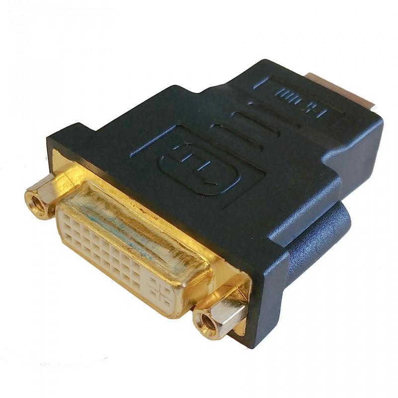 HDMI (M) - DVI-I (24+5)  (F) ADAPTER