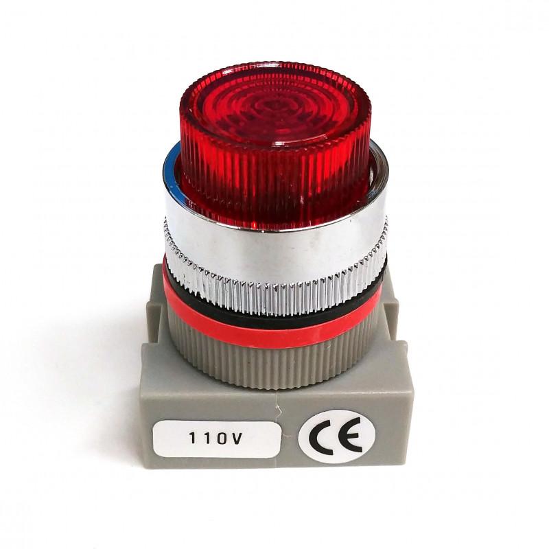 LIGHT NEON PILOT RED ANPL 22