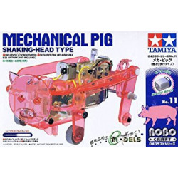 KIT, TAMIYA 71111 MECHANICAL PIG - SHAKING HEAD TYPE
