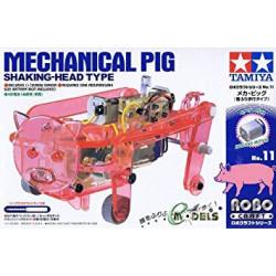 KIT, TAMIYA 71111 MECHANICAL PIG - SHAKING HEAD TYPE