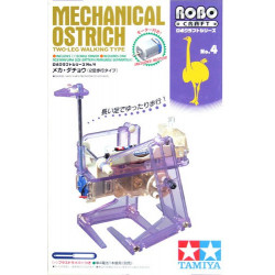 KIT, TAMIYA 71104 MECHANICAL OSTRICH - TWO LEG WALKING TYPE