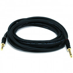 "AUDIO CABLE, 1/4"" TO 1/4"" MONO, 16AWG GOLD PLATED 4.5M"