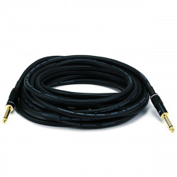 "AUDIO CABLE, 1/4"" TO 1/4"" MONO, 16AWG GOLD PLATED 7.5M"