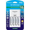 PANASONIC / ENELOOP 4-BANK CHARGER SET AA/AAA