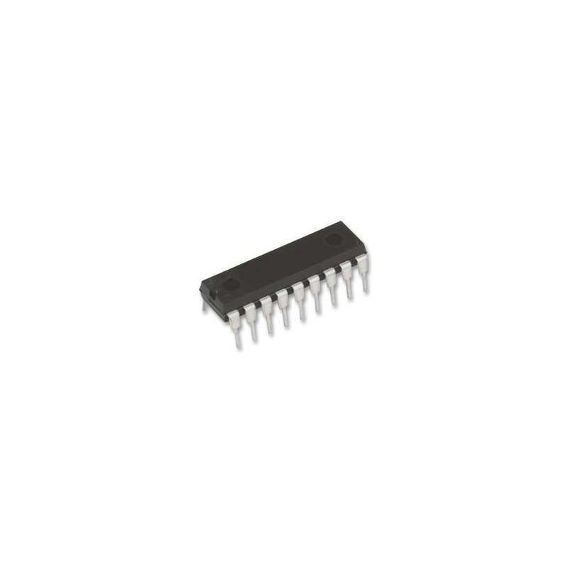 IC, DECODER 2/12 SERIES, HT12D, CMOS, 2.4V TO 12V DIP-18